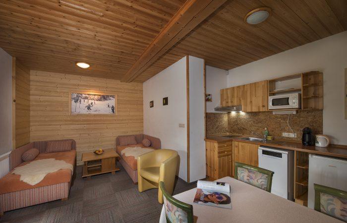 Apartmány Limba_Apartmán s jednou spálňou